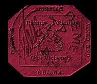 BRITISH GUINA – 1c magenta – worth US.$.9,480,000
