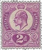 GREAT BRITAIN – The Tyrian Plum – worth  £.110,000