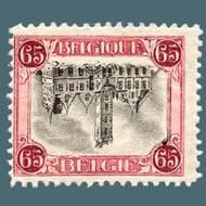 Inverted Dendermonde stamp