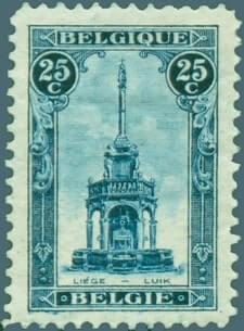 25c Perron of Liege stamp