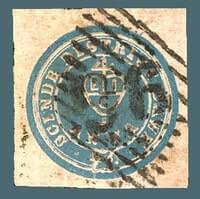 INDIA – 1852, 1/2a blue Scinde Dawk stamp – worth US.$.28,342