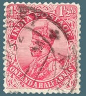 INDIA – 1929, King George V definitive with a watermark – worth US.$.16,750