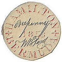 Bermuda – Perot Provisional stamp