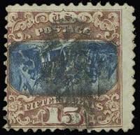 15c 1869 PICTORIALS