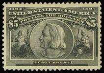 $5.00 COLUMBIAN EXPOSITION