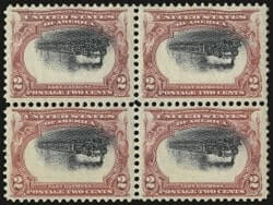 1870-1901 Issues, Pan-American, Center Inverted