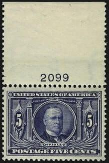 5c Louisiana Purchase. Mint N.H