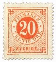 SWEDEN - 1879, Dies Error