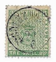 SWEDEN - 1855, Treskilling Green