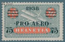 1938, Swiss Pro Aero stamp