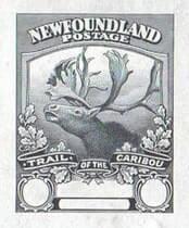 CANADA, Newfoundland - 1919, Trail of the Caribou