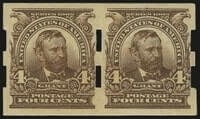 USA – 4c Brown, Imperforate, Schermack Ty. III – worth US.$.400,000
