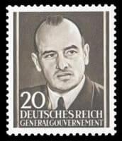 GERMANY, German World War II Propaganda Issues – 1943, Hans Frank – SOLD for $1,100