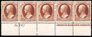 USA - 1888, 30¢ orange brown