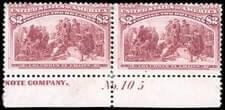USA - 1893, Columbian, $2 brown red