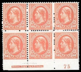 USA - 1894, 50¢ orange