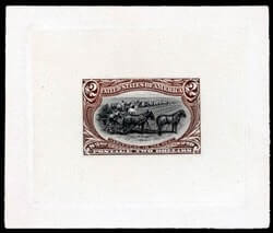 USA - 1898, Trans-Miss., 1¢ to $2 complete, large die proofs