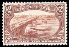 USA - 1898, Trans-Miss., $2 orange brown