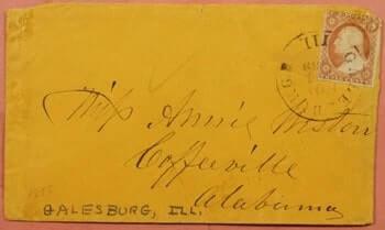USA - 1850,S GALESBURG IL