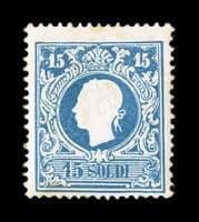 ITALY - 1859, 15s Blue, Ty. I