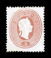 ITALY - 1861, 5s Light red