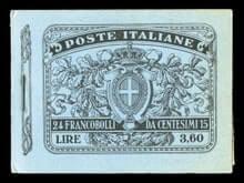 ITALY - 1911, 15c black gray
