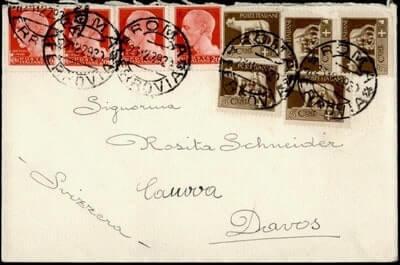 ITALY - 1929, ROME TO SWITZERLAND