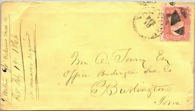 USA – 1866, US COVER
