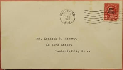 USA - 1928, FDC #646 MOLLY PITCHER OVERPRINT
