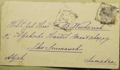 DUTCH EAST INDIES - 1904, OVERPRINT STATIONERY